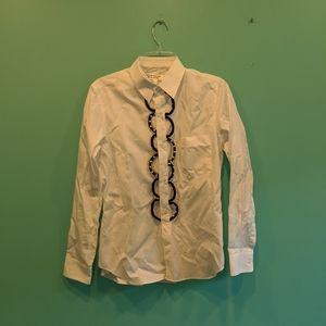 CDG white shirt size M BNWT